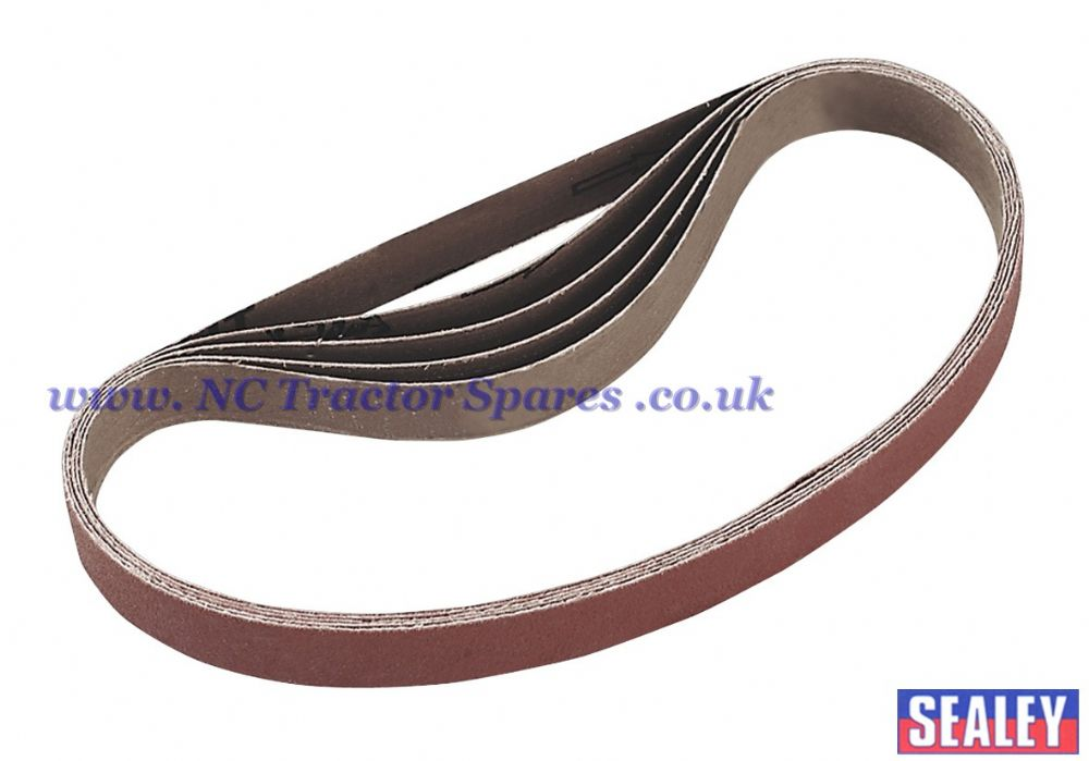 Sanding Belt 100Grit 20 x 520mm Pack of 5